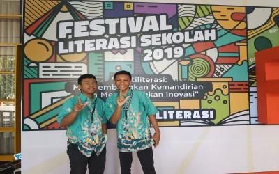 Meme dua siswa SMAN 1 PULUNG  melaju ke Bogor dalam Festival Literasi Sekolah Nasional